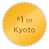 #1 in Kyoto